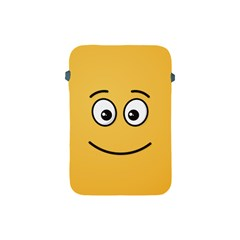 Smiling Face With Open Eyes Apple Ipad Mini Protective Soft Cases