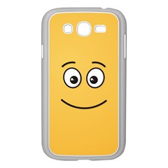 Smiling Face With Open Eyes Samsung Galaxy Grand Duos I9082 Case (white)