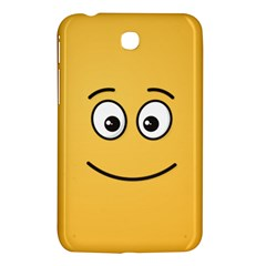 Smiling Face with Open Eyes Samsung Galaxy Tab 3 (7 ) P3200 Hardshell Case