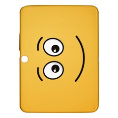 Smiling Face with Open Eyes Samsung Galaxy Tab 3 (10.1 ) P5200 Hardshell Case