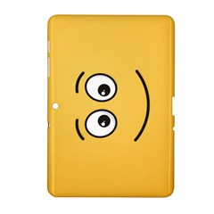 Smiling Face with Open Eyes Samsung Galaxy Tab 2 (10.1 ) P5100 Hardshell Case
