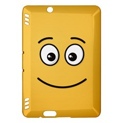 Smiling Face with Open Eyes Kindle Fire HDX Hardshell Case