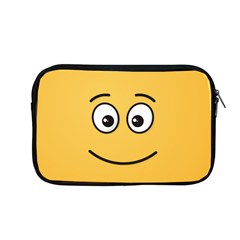 Smiling Face With Open Eyes Apple Macbook Pro 13  Zipper Case