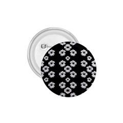 Dark Floral 1.75  Buttons