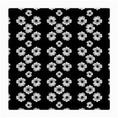 Dark Floral Medium Glasses Cloth