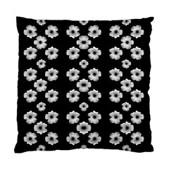 Dark Floral Standard Cushion Case (Two Sides)