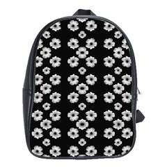 Dark Floral School Bags(Large)