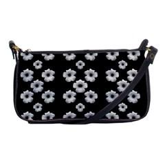 Dark Floral Shoulder Clutch Bags