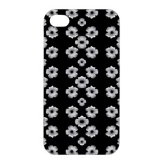 Dark Floral Apple iPhone 4/4S Hardshell Case