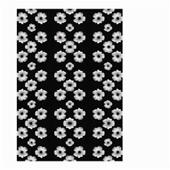 Dark Floral Small Garden Flag (Two Sides)
