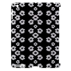Dark Floral Apple iPad 3/4 Hardshell Case (Compatible with Smart Cover)