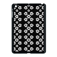 Dark Floral Apple iPad Mini Case (Black)