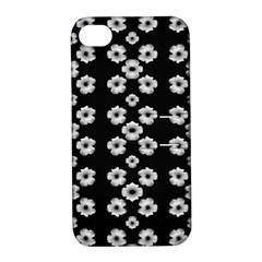 Dark Floral Apple iPhone 4/4S Hardshell Case with Stand