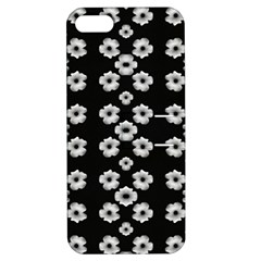 Dark Floral Apple iPhone 5 Hardshell Case with Stand