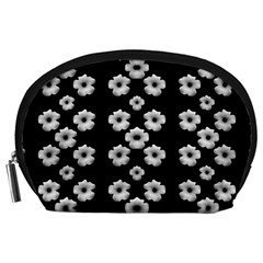 Dark Floral Accessory Pouches (Large)