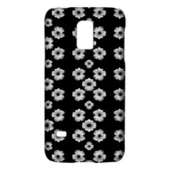 Dark Floral Galaxy S5 Mini