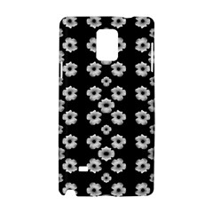 Dark Floral Samsung Galaxy Note 4 Hardshell Case