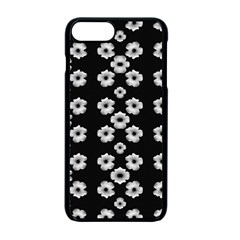 Dark Floral Apple Iphone 7 Plus Seamless Case (black)