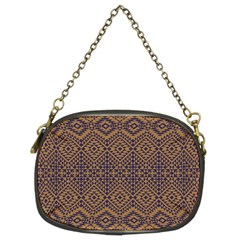 Aztec Pattern Chain Purses (two Sides)