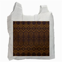 Aztec Pattern Recycle Bag (two Side)