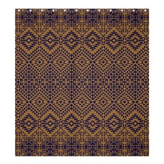 Aztec Pattern Shower Curtain 66  X 72  (large)