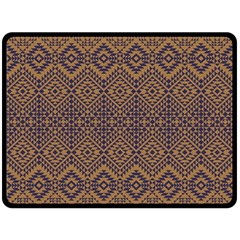 Aztec Pattern Fleece Blanket (large)