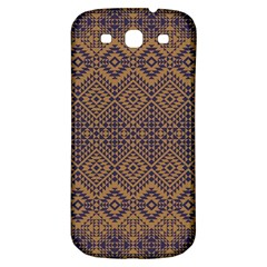 Aztec Pattern Samsung Galaxy S3 S Iii Classic Hardshell Back Case