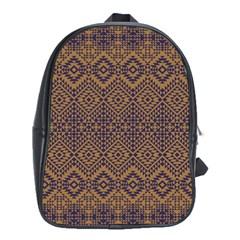 Aztec Pattern School Bags (xl)
