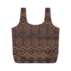 Aztec Pattern Full Print Recycle Bags (m)