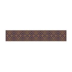 Aztec Pattern Flano Scarf (mini)