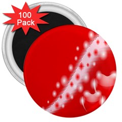 Background Banner Congratulation 3  Magnets (100 Pack)