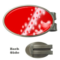 Background Banner Congratulation Money Clips (Oval)