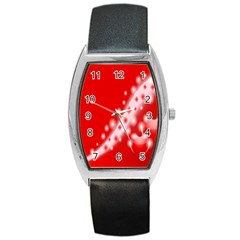 Background Banner Congratulation Barrel Style Metal Watch