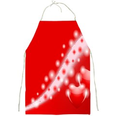 Background Banner Congratulation Full Print Aprons