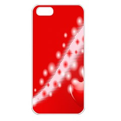 Background Banner Congratulation Apple Iphone 5 Seamless Case (white)