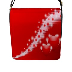 Background Banner Congratulation Flap Messenger Bag (l)