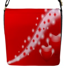 Background Banner Congratulation Flap Messenger Bag (s)