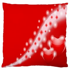 Background Banner Congratulation Standard Flano Cushion Case (one Side)