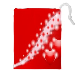 Background Banner Congratulation Drawstring Pouches (xxl)