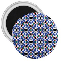 Background Pattern Geometric 3  Magnets