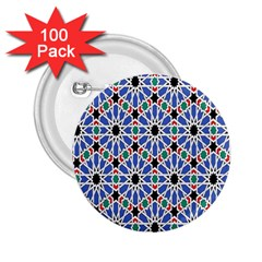 Background Pattern Geometric 2 25  Buttons (100 Pack)