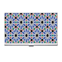 Background Pattern Geometric Business Card Holders