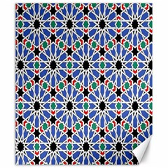 Background Pattern Geometric Canvas 20  X 24