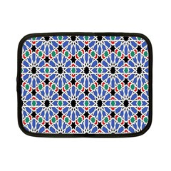 Background Pattern Geometric Netbook Case (small)