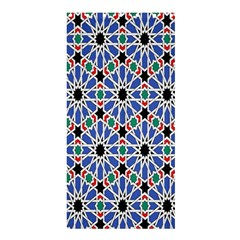 Background Pattern Geometric Shower Curtain 36  X 72  (stall)