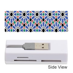 Background Pattern Geometric Memory Card Reader (stick)