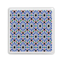 Background Pattern Geometric Memory Card Reader (square)