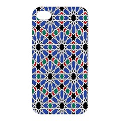 Background Pattern Geometric Apple Iphone 4/4s Hardshell Case