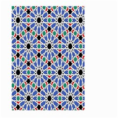 Background Pattern Geometric Large Garden Flag (two Sides)