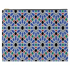 Background Pattern Geometric Cosmetic Bag (XXXL)